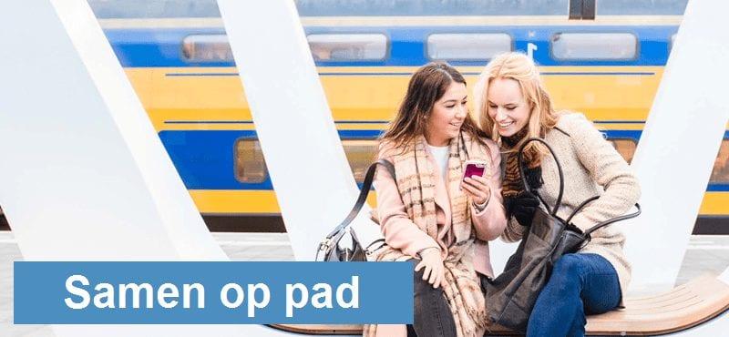 Samen op pad met de trein