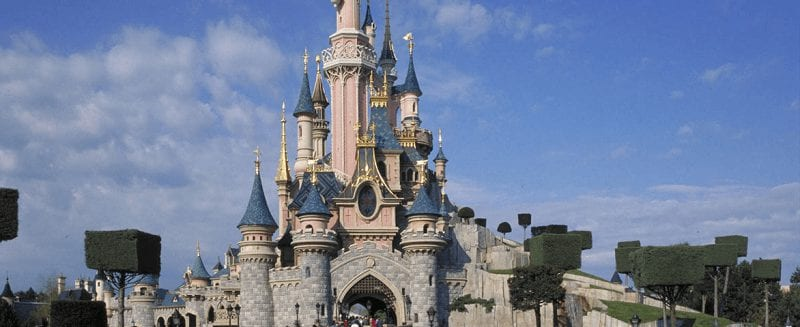 Met de TGV naar Disneyland Parijs