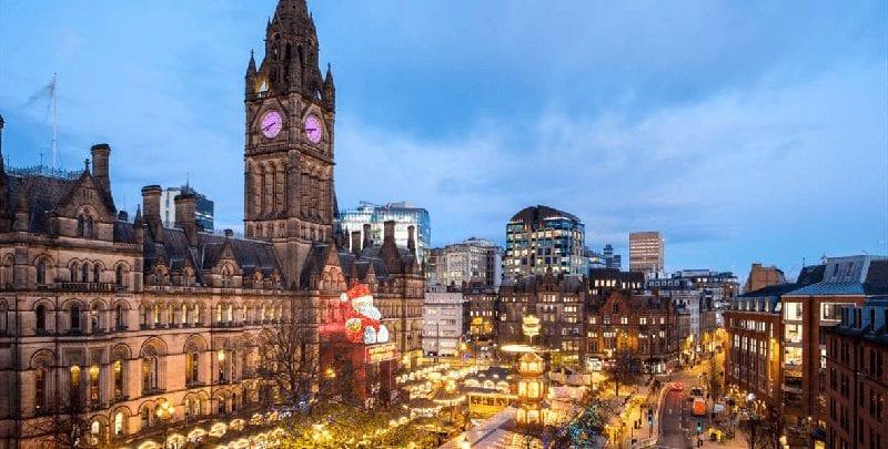 Trein naar Manchester