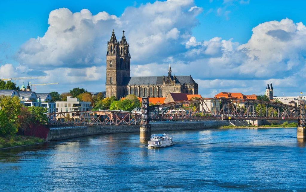 Treinkaartje Magdeburg