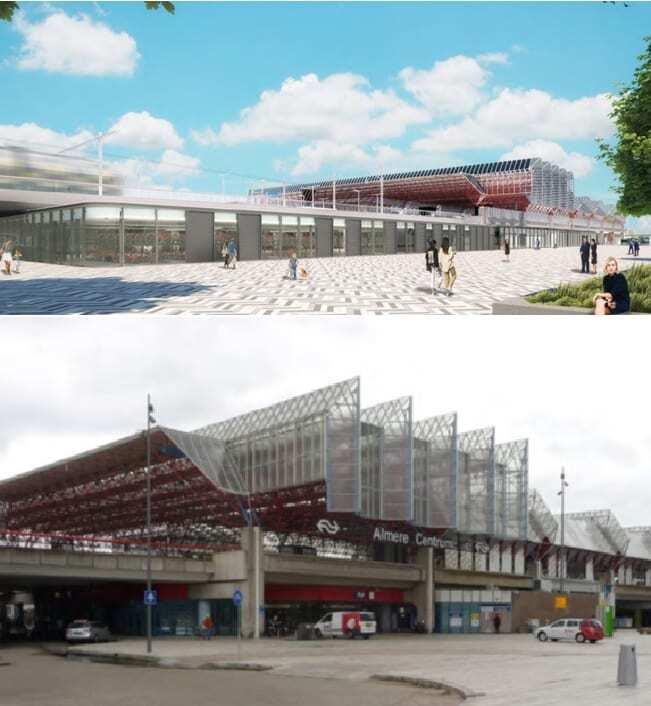 Nieuw station Almere Centrum